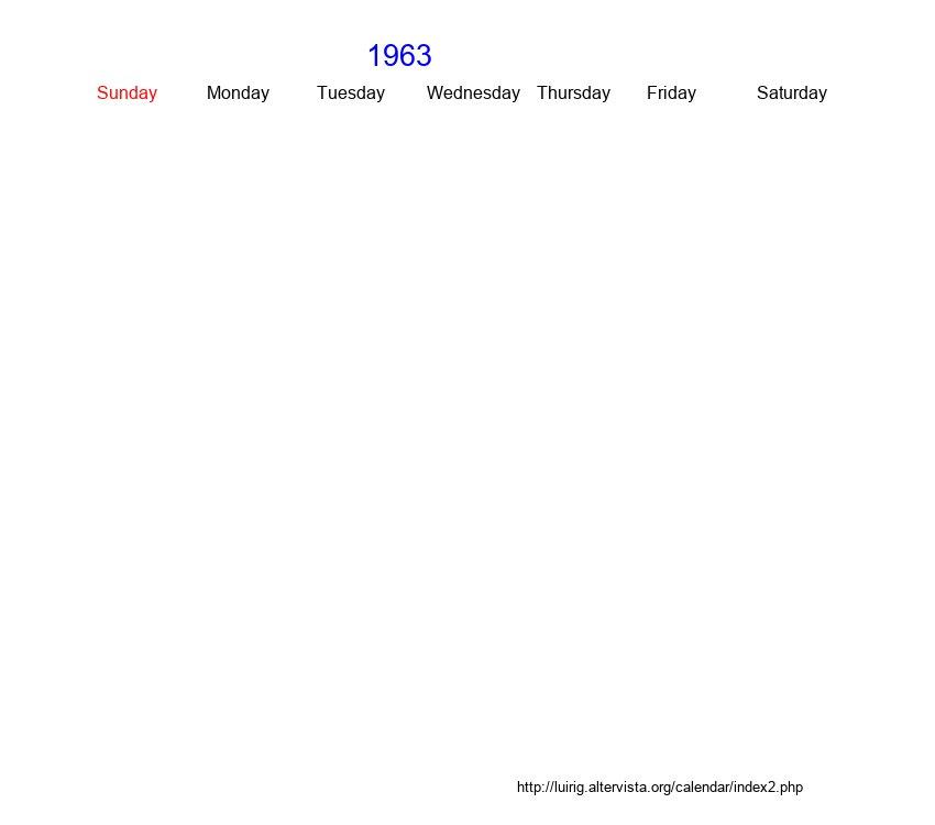 November 1963 Roman Catholic Saints Calendar