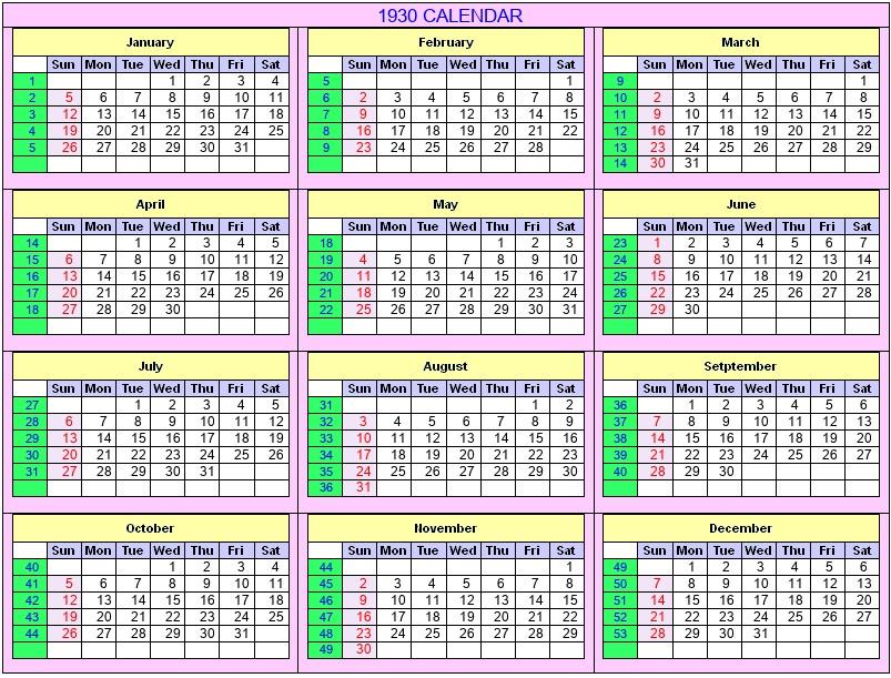 Calendar Week 39