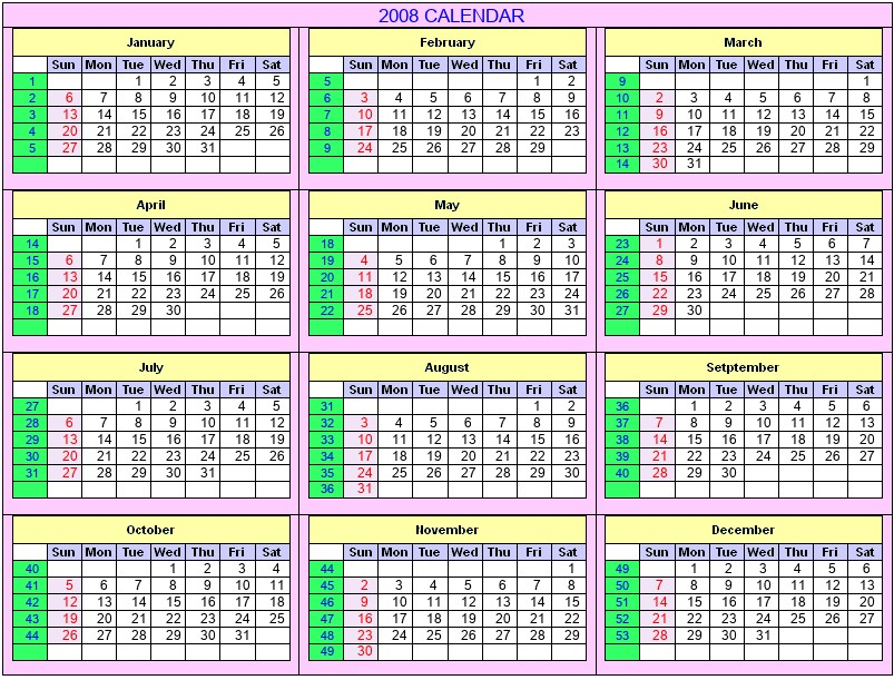 December 2008 - Roman Catholic Saints Calendar