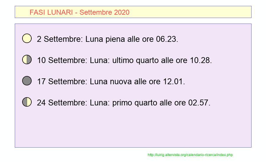 Calendario Di Settembre 2020.Calendario Settembre 2020 Pdf Equinozio Di Autunno