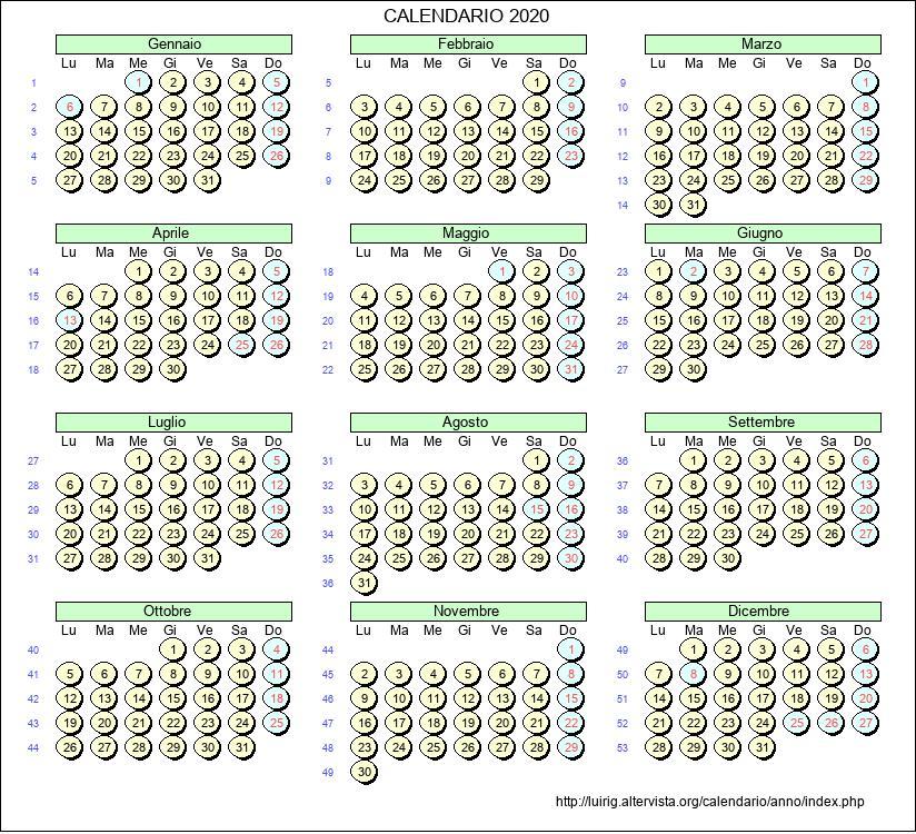 Calendario Lunare 2020 Semine.Calendario Febbraio 2020 Con Santi E Fasi Lunari