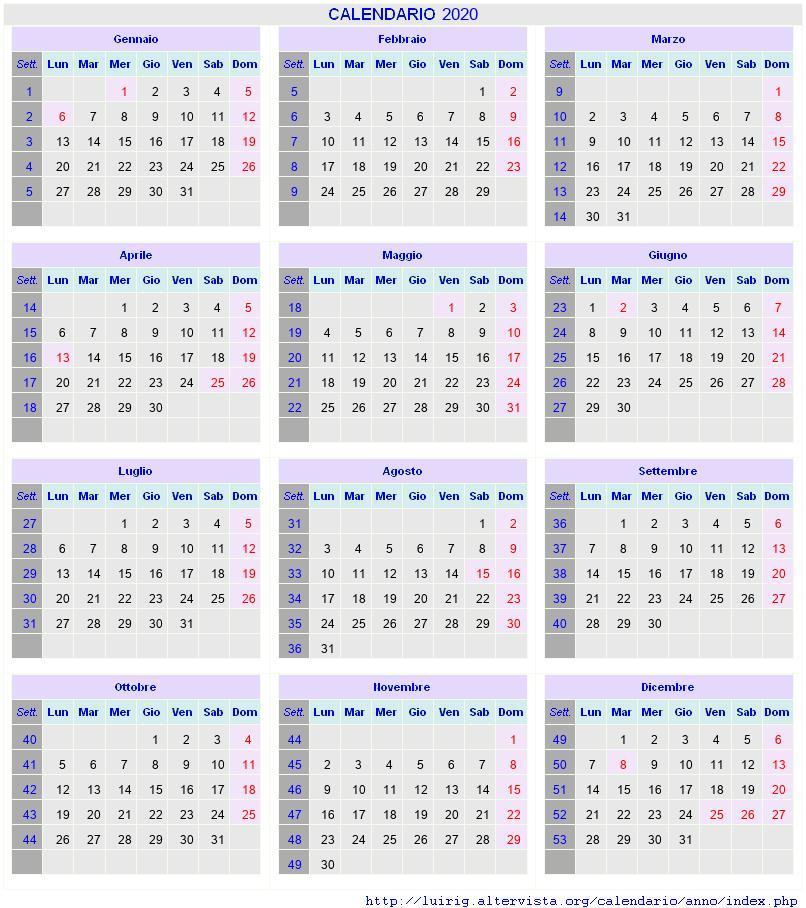 Dicembre Calendario 2020.Calendario Dicembre 2020 Con Santi E Fasi Lunari Avvento