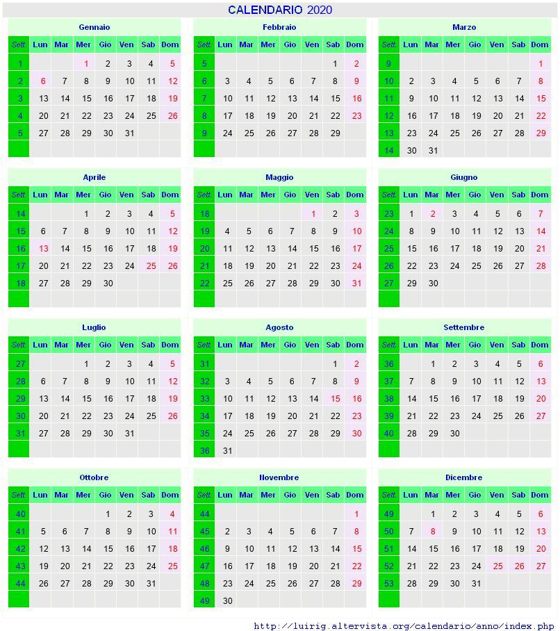 Calendario Ponti 2020.Calendario Settembre 2020 Con Santi E Fasi Lunari