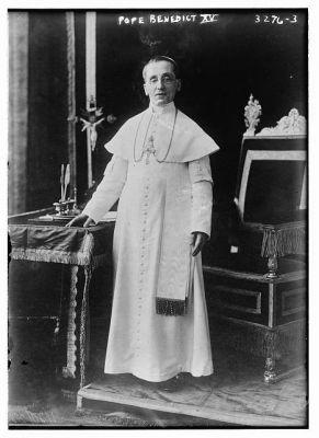 pope benedict xv family