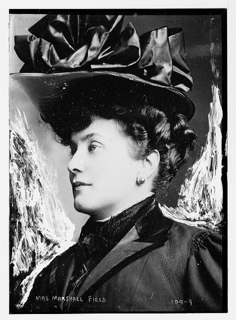 Mrs. Marshall Field, portrait bust