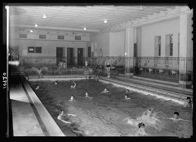 Id 286640 jerusalem y m c a activities swimming pool boys day