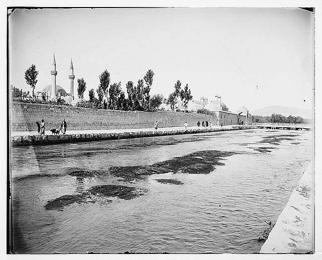 Abana River Damascus Damascus Esh-sham River