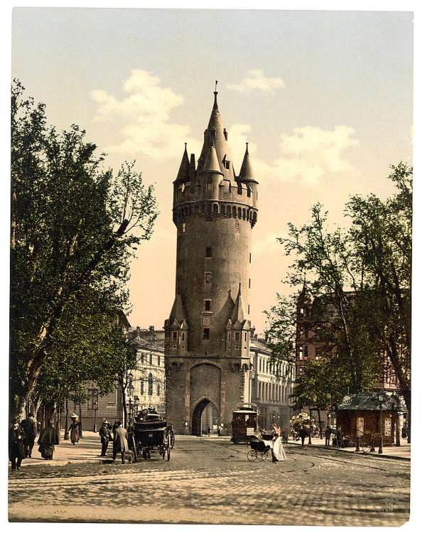 Eschenheimer Gate, Frankfort on Main (i.e. Frankfurt am Main),..