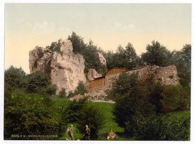 Ruins of Schwarzfels, Hartz, Germany